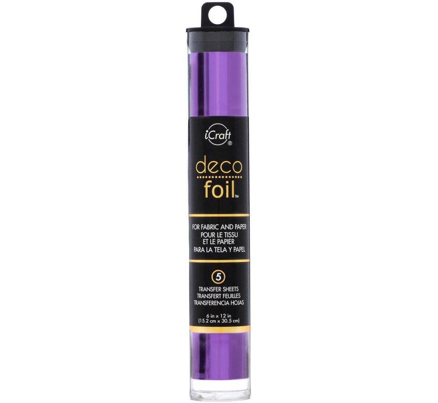 Deco Foil Purple