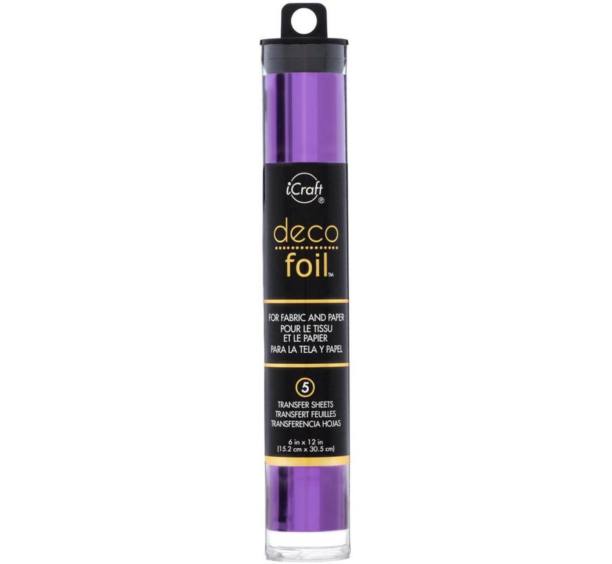 Deco Foil Purple