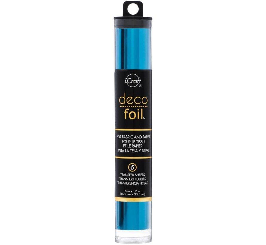 Deco Foil Ocean Blue