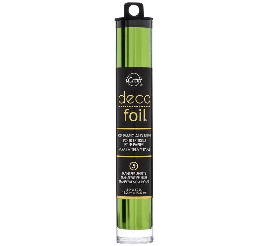 Deco Foil Spring Green