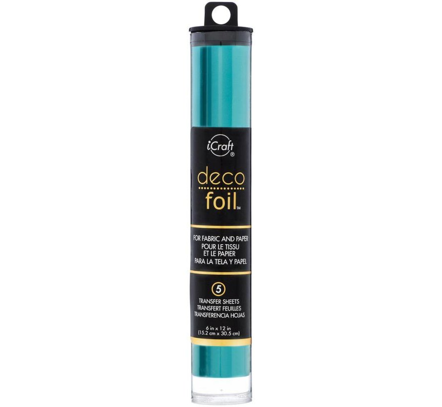 Deco Foil Turquoise
