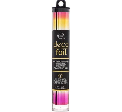 Deco Foil Deco Foil  Summer Rainbow