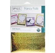 Deco Foil Gina K. Foils: Gold Sequins