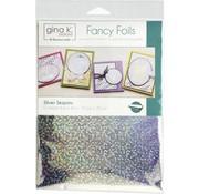 Deco Foil Gina K. Foils: Silver Sequins