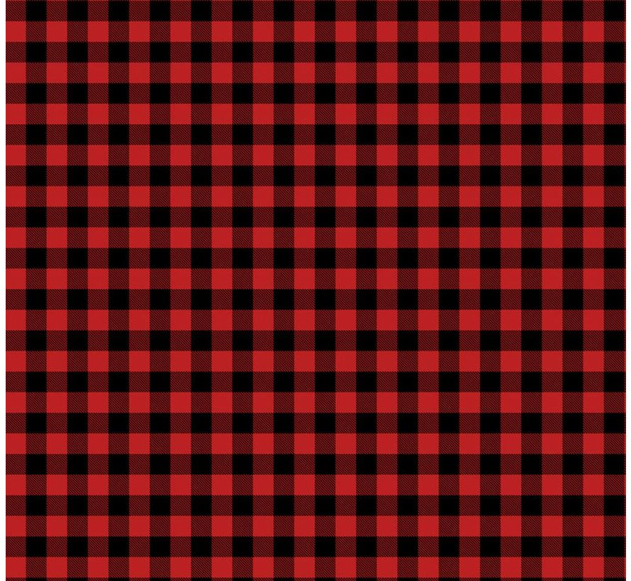 Buffalo Plaid Rood