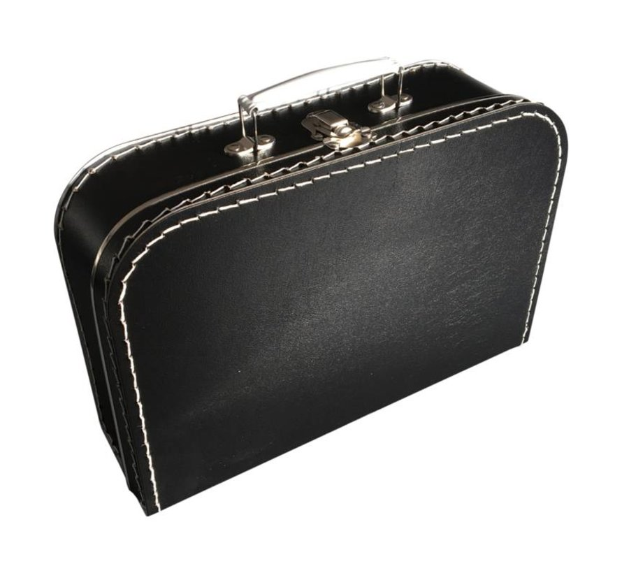 Koffer- 35 cm- Zwart