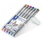 Staedtler Pigment fineliner 6 - Kleur 0,3mm