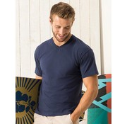 Fruit-of-the-Loom T-shirt mannen - met V-hals