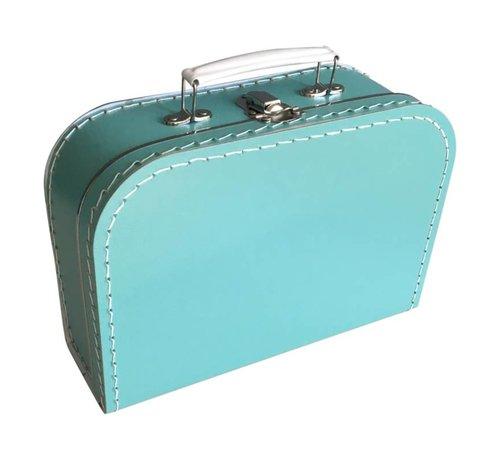 Koffer - midi effen - Turquoise