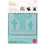 Fabric Creations Fabric Creations Adhesive Stencil - Klein