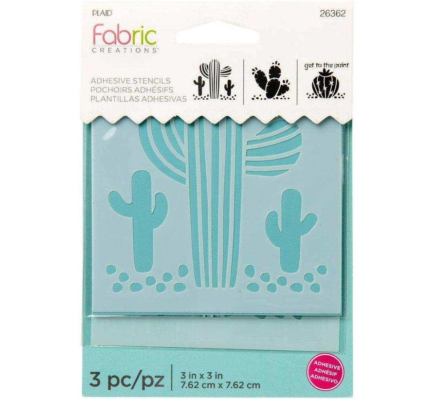 Fabric Creations Adhesive Stencil - Klein