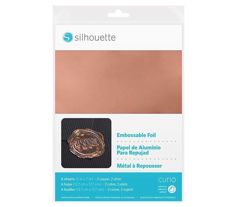 Embossable Foil (12.7cm x 17.8cm)