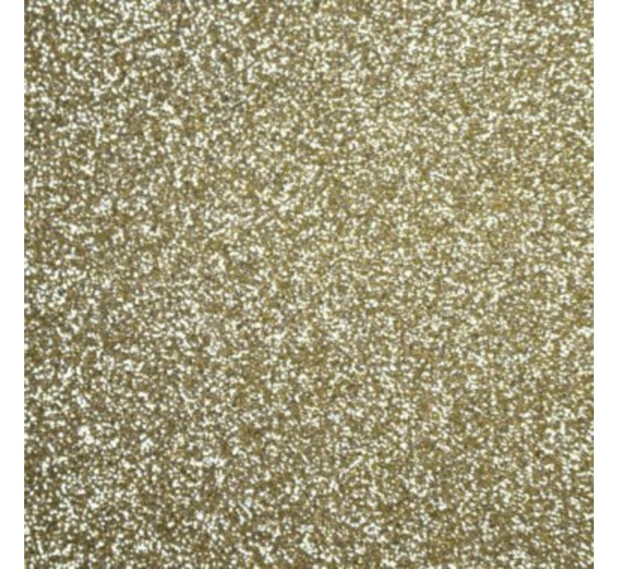 Flexfolie Glitter 14k-Gold