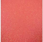 Siser Flexfolie Glitter Rainbow Coral