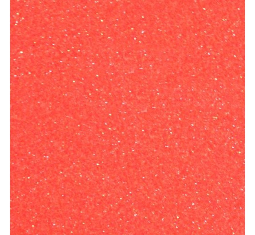 Flexfolie Glitter Neon Grapefruit