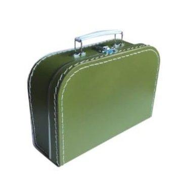 Koffer - 25 cm - Olijfgroen
