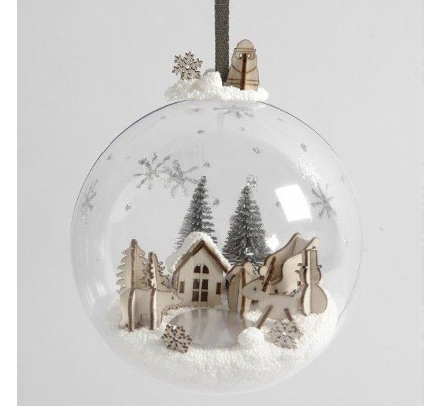 Materialenset voor decoratieve kerstbal
