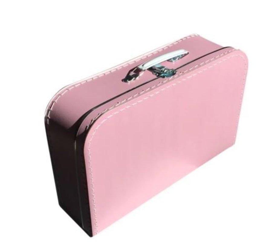 Koffer - groot - felroze