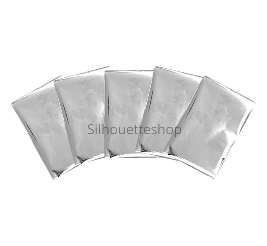 Foil Quill Foil Sheets Silver Swan
