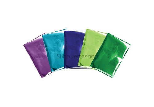 We R Memorykeepers Foil Quill Foil Sheets Peacock PRE ORDER