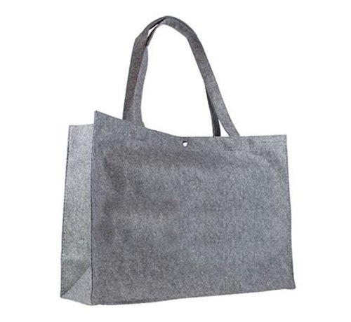 Vilten tas met hengsels-groot
