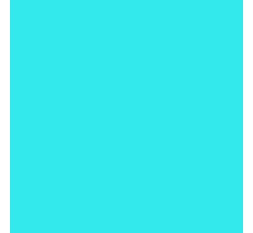 Flockfolie Lichtblauw