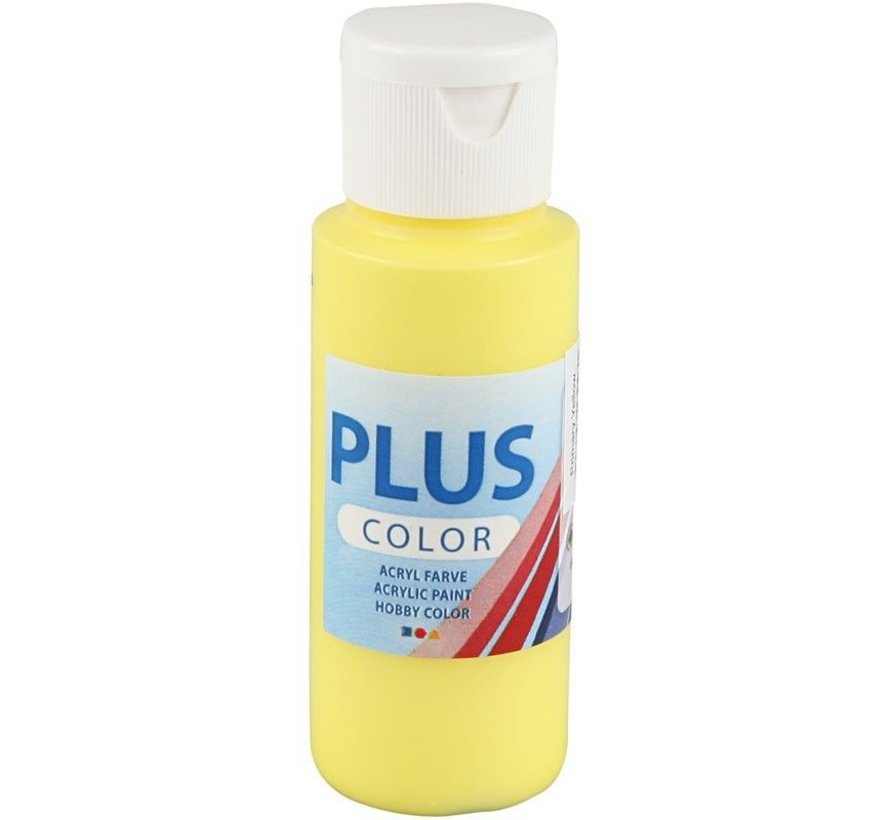Plus Color Acrylverf - Primary Yellow