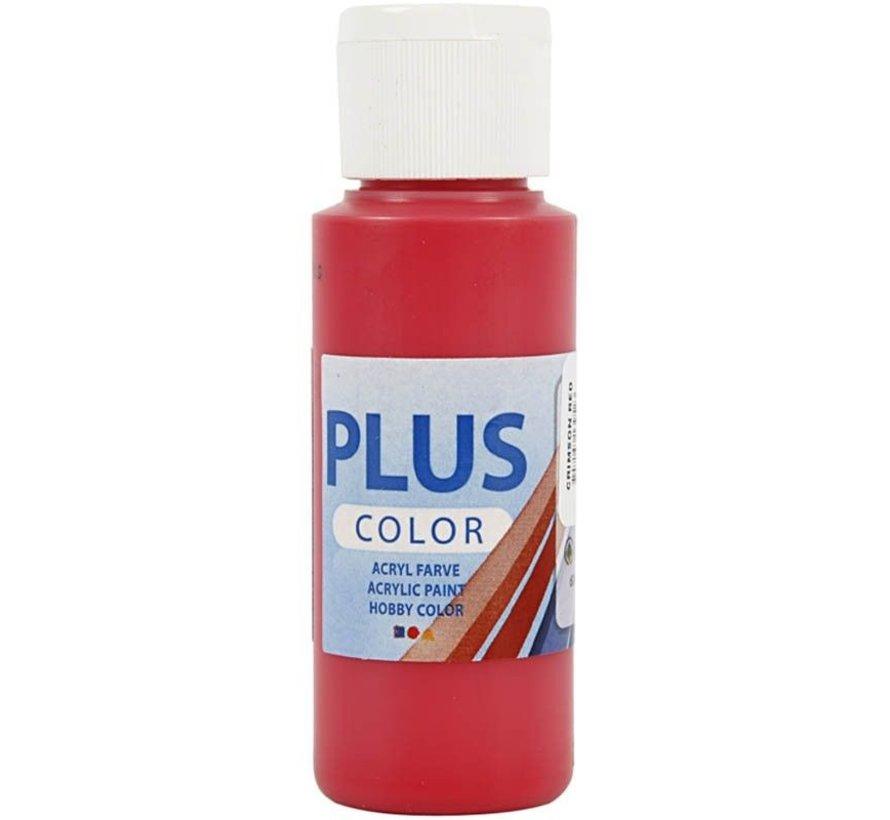 Plus Color Acrylverf - Crimson Red
