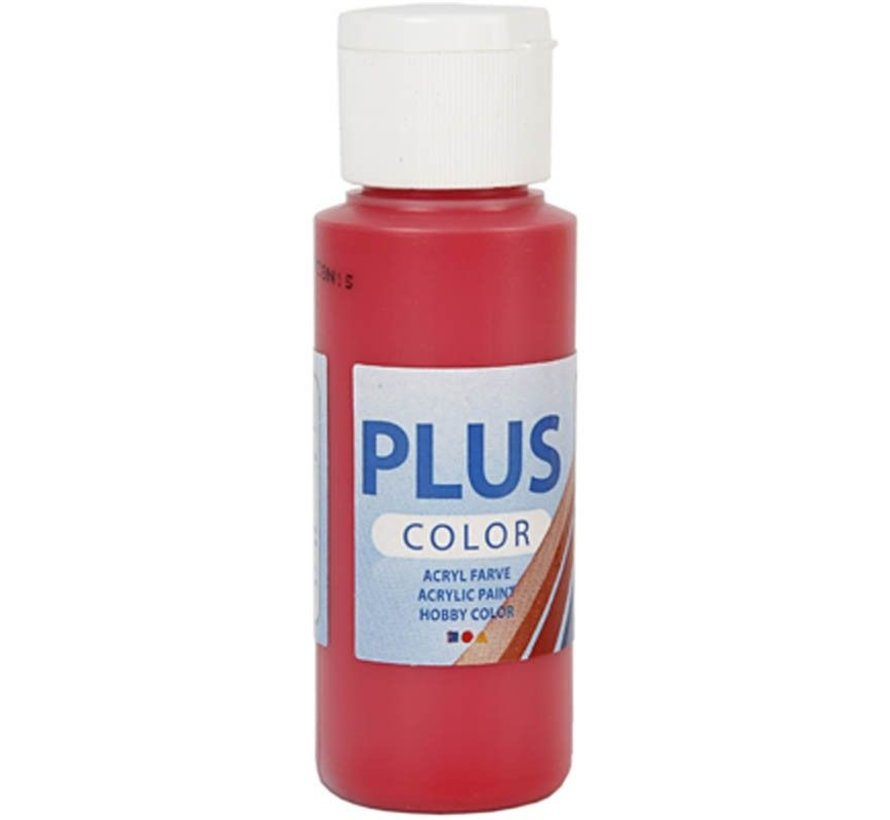 Plus Color Acrylverf - Berry Red