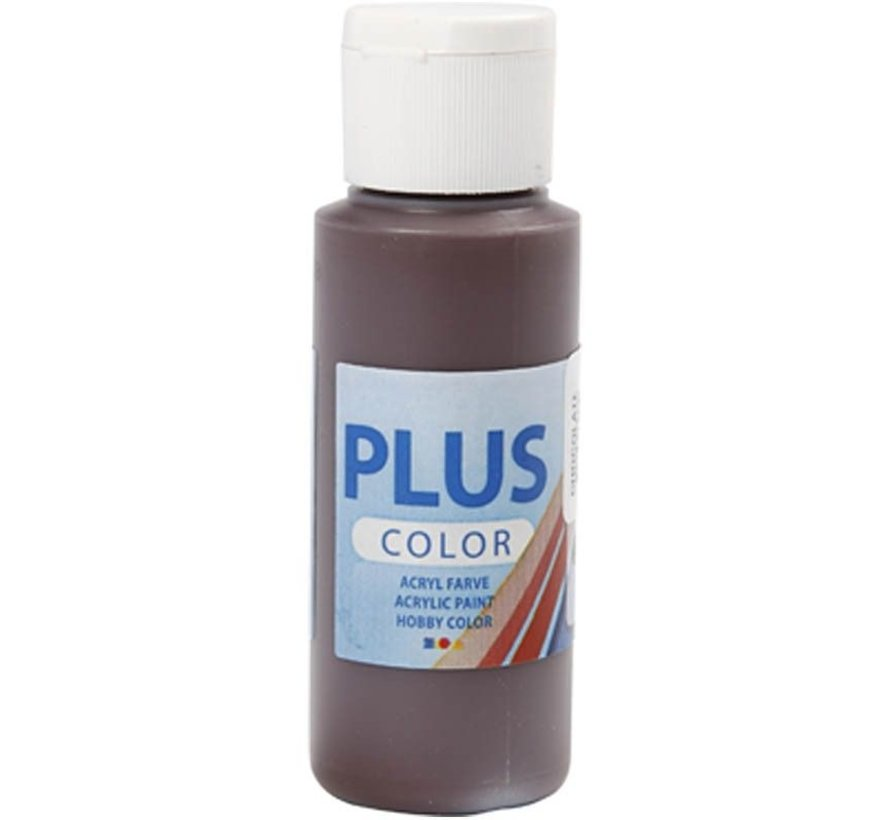 Plus Color Acrylverf - Chocolate