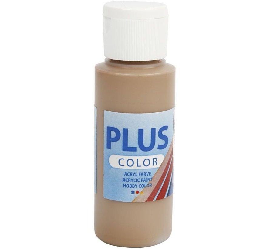 Plus Color Acrylverf - Light Brown
