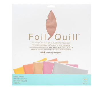 We R Memorykeepers Foil Quill Sheets 12 x 12 - SHINING STARLING