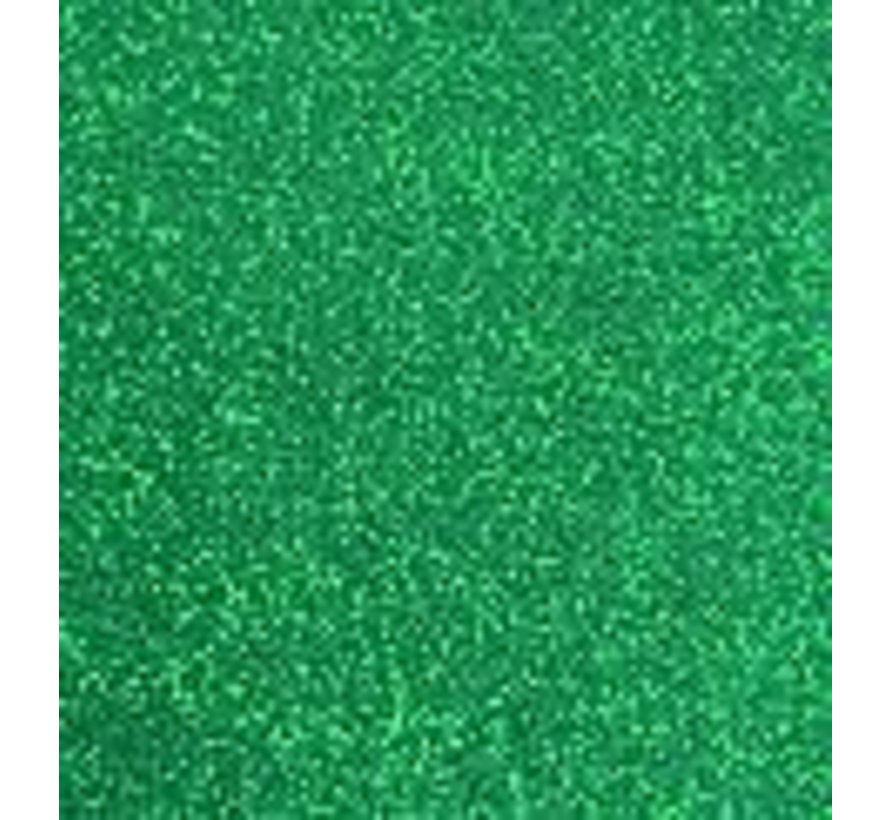 Flexfolie Sparkle  Green Leaf