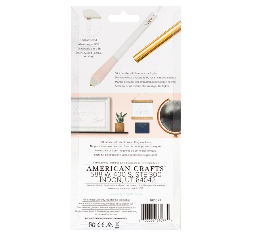 Foil Quill Freestyle Pen - Fine Tip