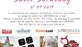 Subli Saturday op zaterdag 21 september 2019