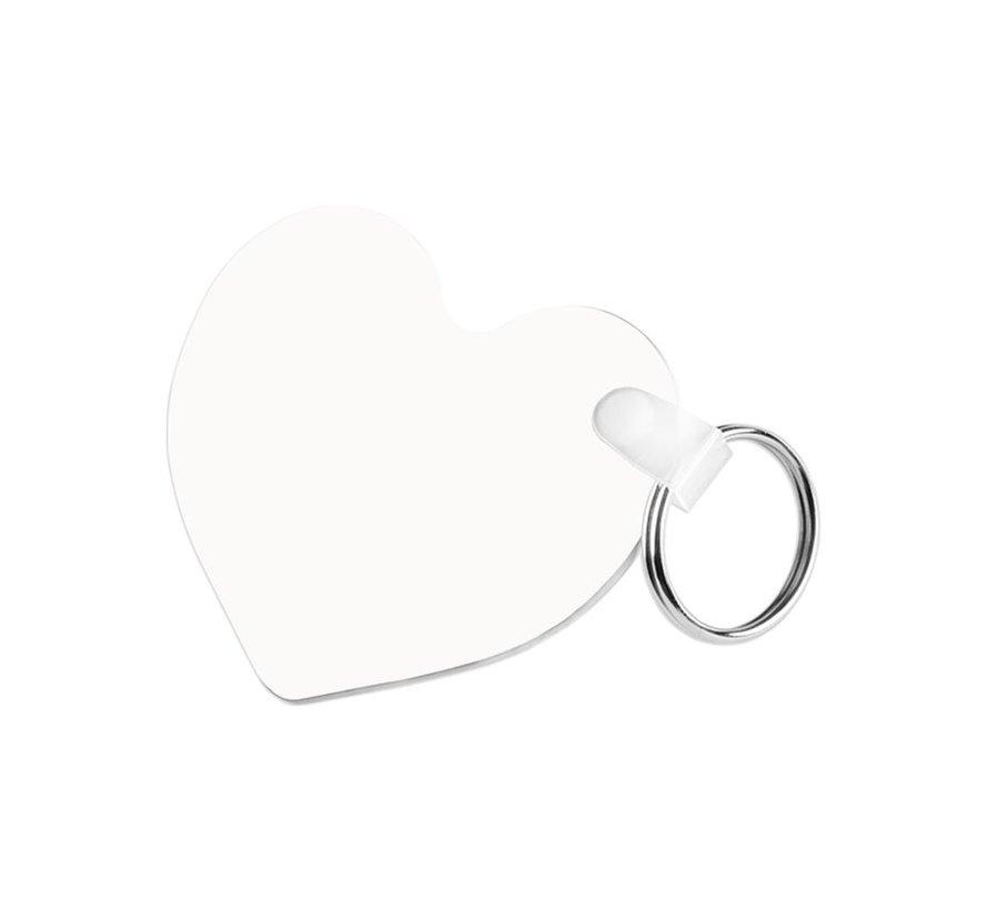 Sleutelhanger - Hartvormig