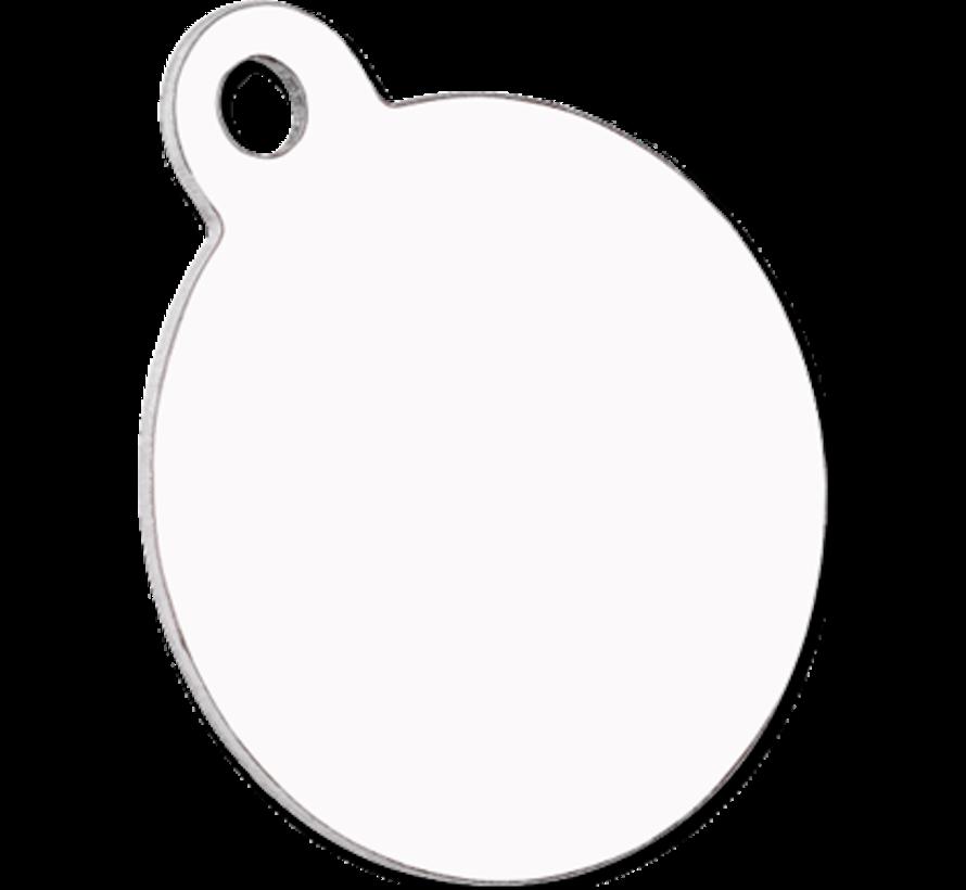 Huisdier naamplaatje - Rond