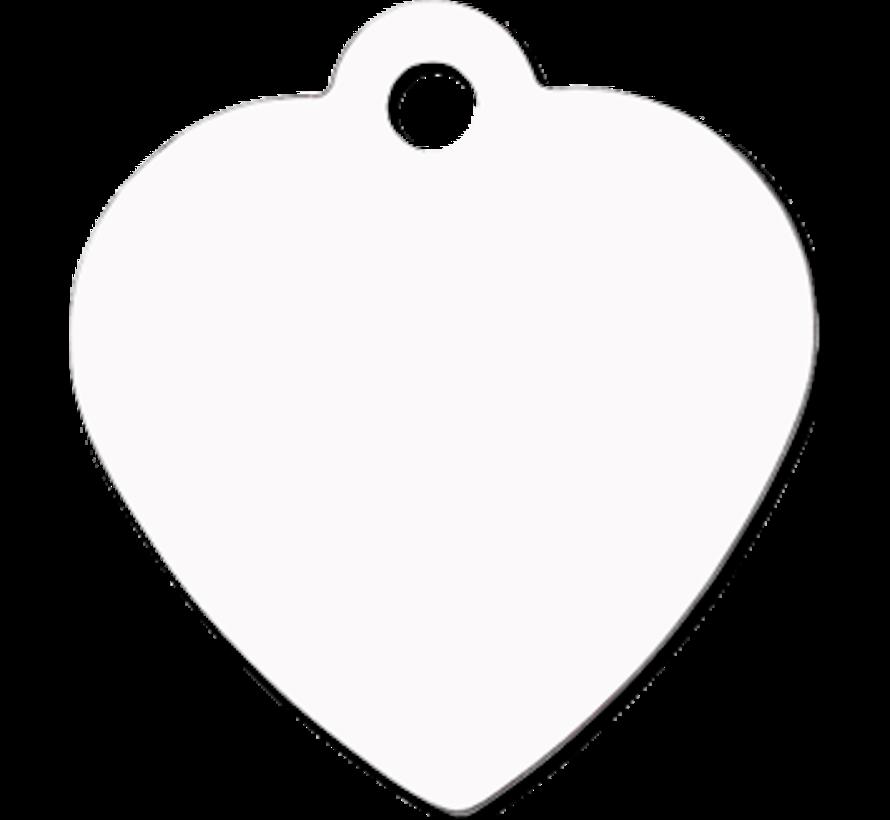 Huisdier naamplaatje - Hartvorm