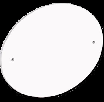 Unisub Deurbordje - Ovaal met voorgeboorde gaten