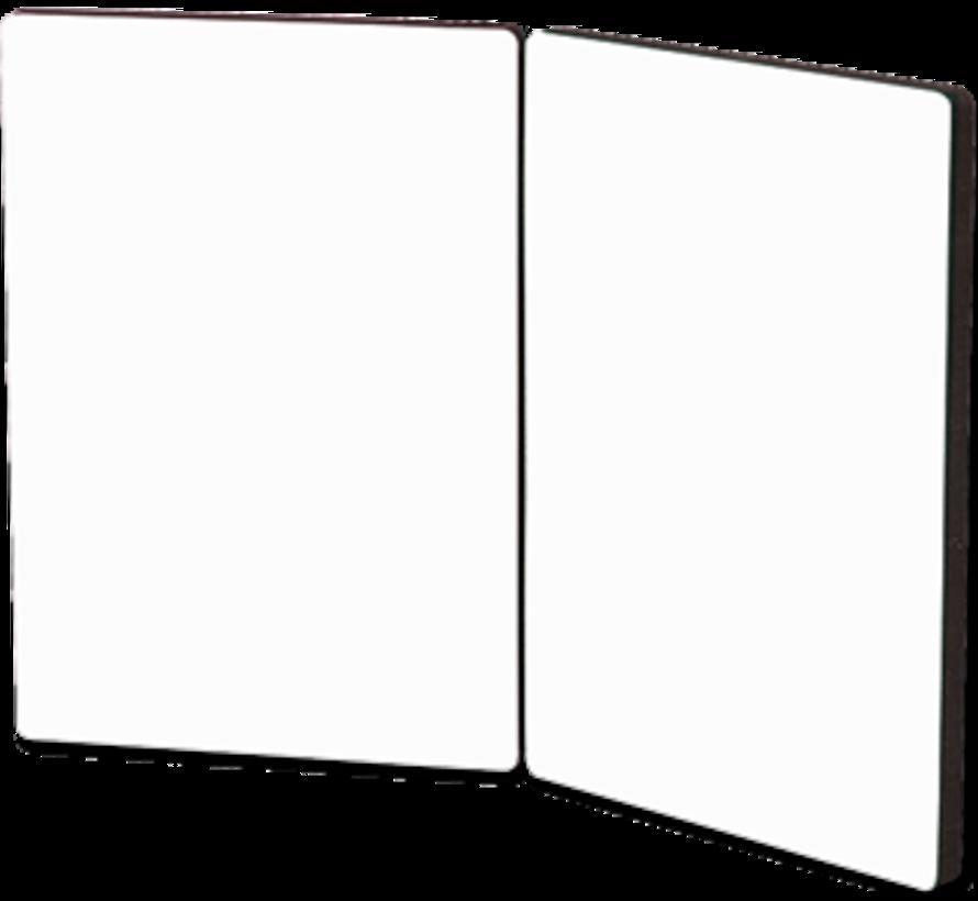 Fotopaneel met scharnier (2 paneel)