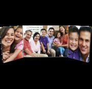 Unisub Fotopaneel met scharnier (3 panelen)