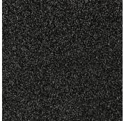 """Glittervinyl -  12"""" x 12""""  -  Zwart"""