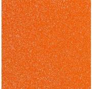 "Glittervinyl -  12"" x 12""  -  Oranje"
