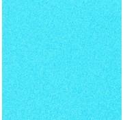 """Glittervinyl -  12"""" x 12""""  -  Fluo Blauw"""