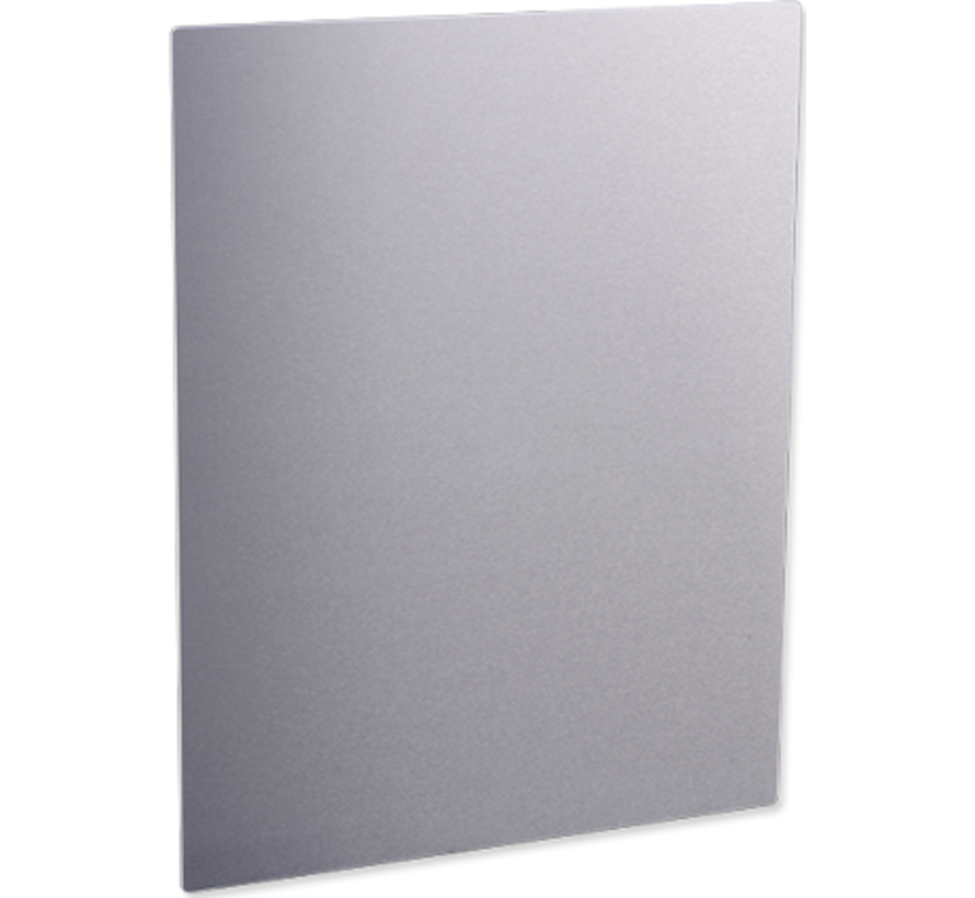 Fotopaneel Glanzend blank aluminium