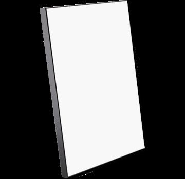ChromaLuxe Houten fotopaneel met zwarte rand ( 203 x 254 mm)
