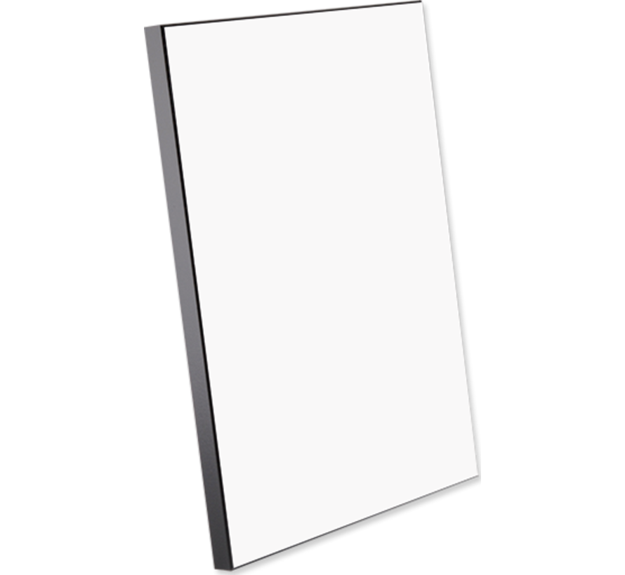 Houten fotopaneel met zwarte rand ( 203 x 254 mm)