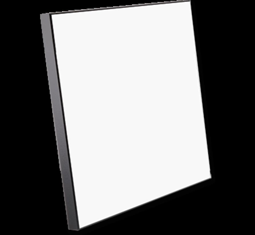 Houten fotopaneel met zwarte rand ( 150 x 150 mm)