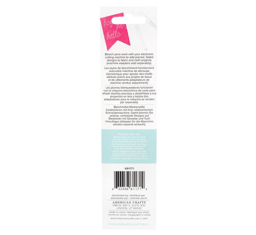 Fabric Quill Bleach Pens (2pk)