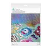 Silhouette Sticker Paper - Holographic Dots